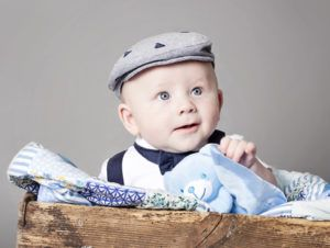 Three month professional baby photos