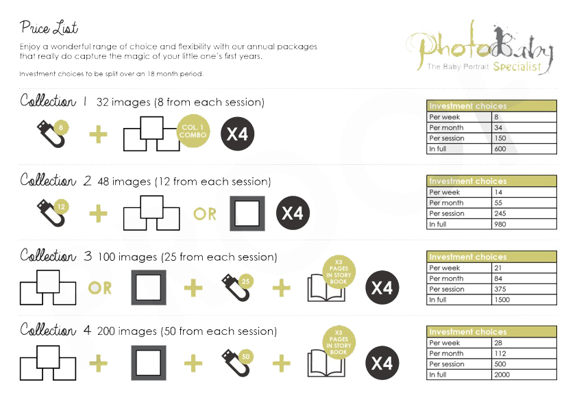Photobaby-A4 Price List-Collections 2016-3
