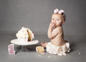 cake smash baby