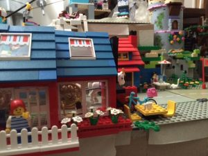 Our lego creation inspired by Lego House