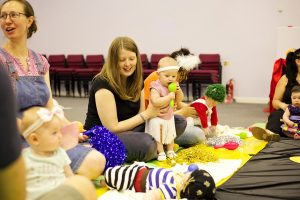 making friends at baby sensory lancaster
