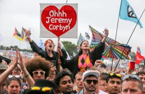 Oh Jeremy Corbyn Glastonbury Revellers