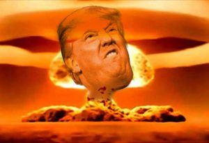 Trump threatens Nuclear Strike in the news