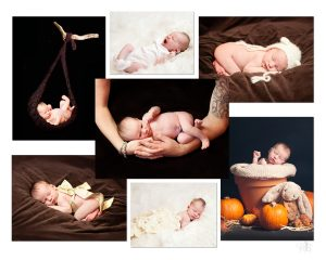 first year newborn portraits