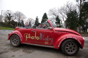 photography studio car